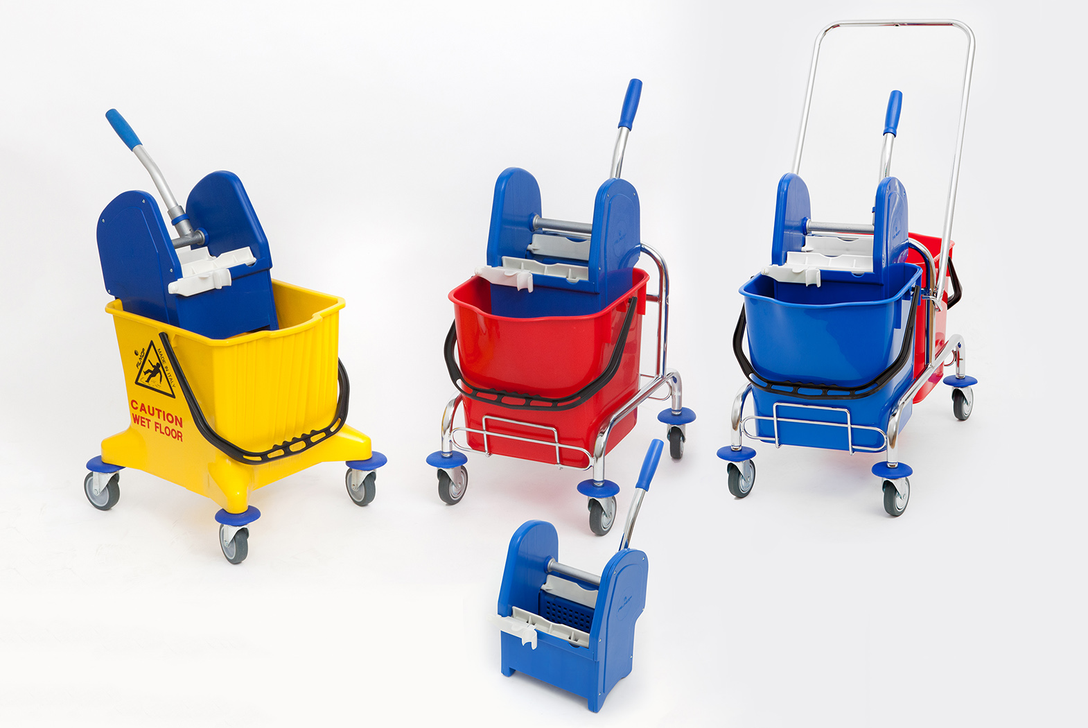 Mop trolleys